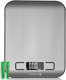 Etekcity Food Digital Kitchen Weight Scale Grams and Oz, Bac