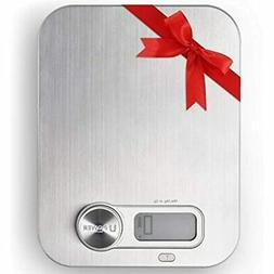 Ellessi Food Weight Scale. BATTERY FREE Digital Kitchen Scal