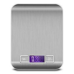 Food Scale, ROSIMO Digital Multifunction Kitchen Scale Stain