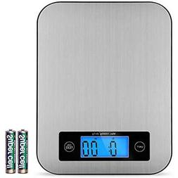 Food Scales Digital Postage Stainless Steel Kitchen For 2DAY