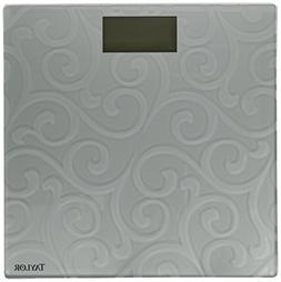 Taylor Precision Products Frosted Digital Glass Bath Scale,