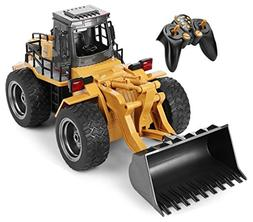 Top Race 6 Channel Full Functional Front Loader, RC Remote C