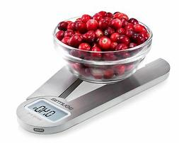 Gourmia GKS9160 Stainless Steel Folding Scale Compact Electr
