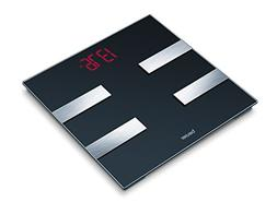 Beurer Glass Digital Body Analysis Bathroom Scale with Large