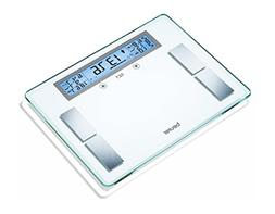 Beurer Glass Body Analysis Scale With Extra Large LCD Displa