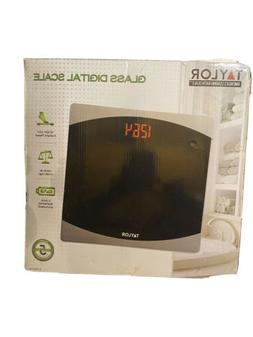Taylor Precision Products Glass Digital Bath Scale