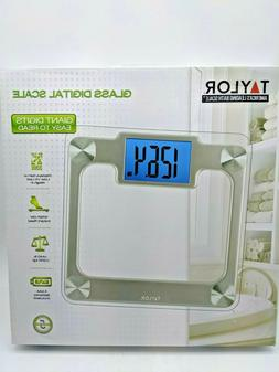 Taylor Glass Digital Scale - with Giant Easy Read Digits Lar