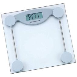 New 330 lb Glass Electronic Bathroom Scale LCD Display