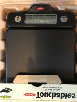 OXO Good Touchables 5 LB Food Scale With Pull Out Display In