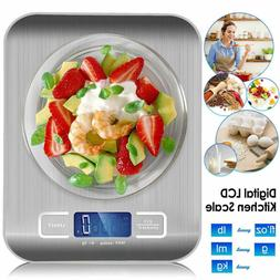 Gram Kitchen LCD Display Digital Scales Weighing Weight Bala