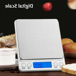 Gram LCD Display Weighing Digital Pocket Scales Weight Balan