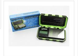 Green TUFF WEIGH Digital Pocket Scales On Balance 100g/0.01g