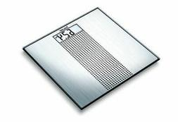 Beurer GS36 Glass Bathroom Scales with Stainless Steel Finis
