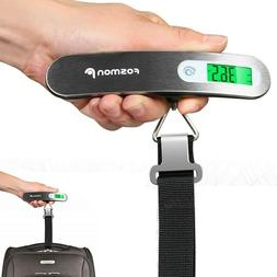 Handheld Travel Luggage Digital Scale Portable Weight Hook H