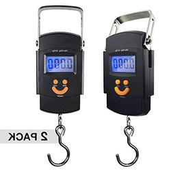 PARTYSAVING  Hanging Electronic Travel Scale for Luggage wit