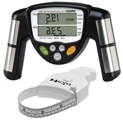 Omron HBF-306C BodyLogic Pro Hand Held Body Fat Monitor Blac