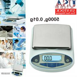 High Precision Lab Scale 5000g, 0.01g Analytical Balance Dig