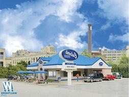 WALTHERS CORNERSTONE HO SCALE 1/87 CULVER'S RESTAURANT KIT |