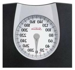 Sunbeam Home Dial Body Weight Floor Scale Bathroom Monitor H