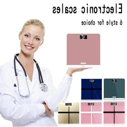 Household Glass Electronic Digital KG Personal Square Scale