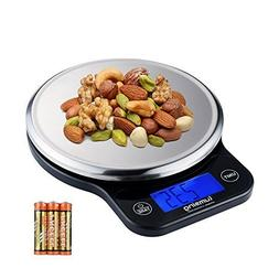 Lumsing Digital Kitchen Scale, Multifunction Stainless Steel