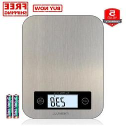 Merfull Digital Kitchen Scale,Food Weigher,Entire Stainless