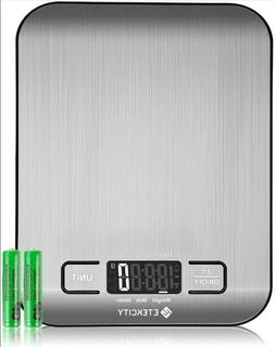 Kitchen Scale Electronic Food Weighing Scale Digital Measuri