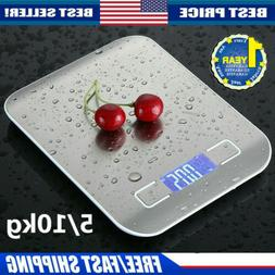 Kitchen Scale LCD Electronic Food Weighing Scale Digital Mea