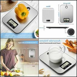 Kitchen Scale Multifunction Electronic Scale Stainless Steel