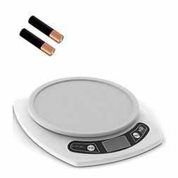 Digital Kitchen Scale. Weigh Food in Grams and Ounces. 15-lb
