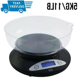Kitchen Scale With Bowl Digital Food Scales For Baking Weigh