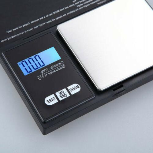 100g LCD Digital Scale Gold Scales
