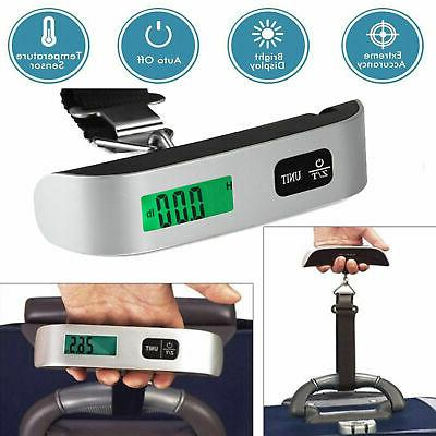110lb Travel LCD Luggage Scale Weight