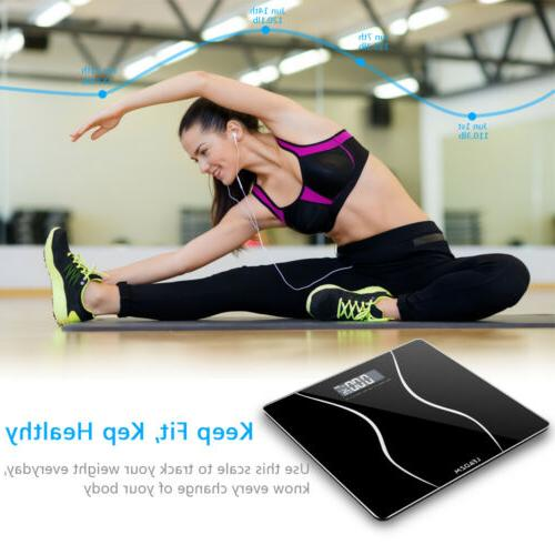 180KG Electronic Personal Glass Bathroom Weight Weighing
