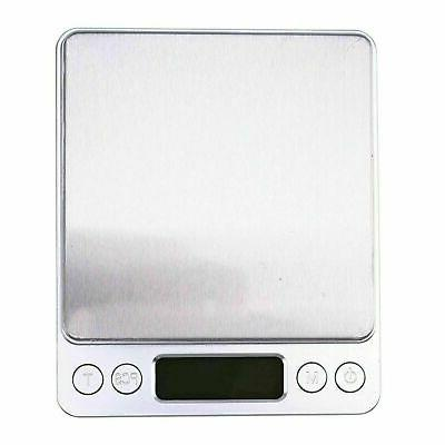 3000g/0.1g Digital Scale Jewelry Weight Balance Scale