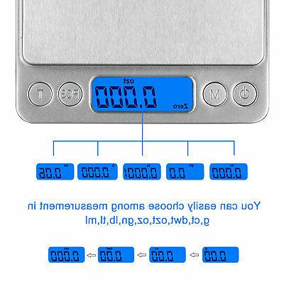 3000g Pocket Digital Scale Jewelry Weighing
