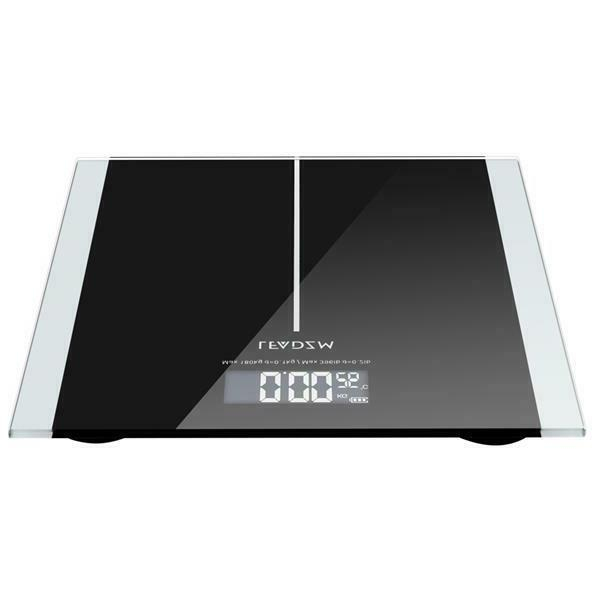396lb 180kg Body Weight Scale HD LCD + Battery