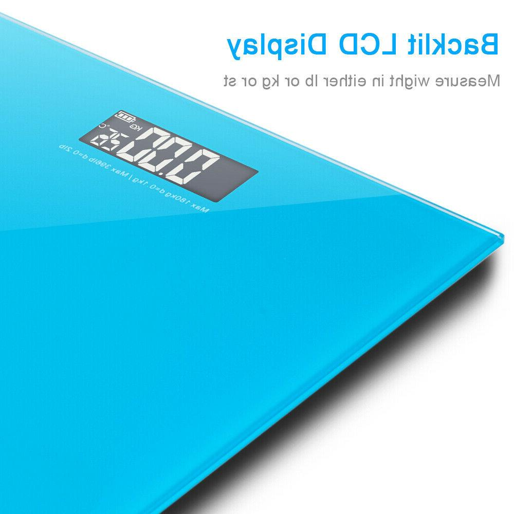 396LB Glass Bathroom Weight Weighing Scales KG
