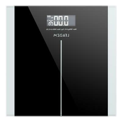 396LB Digital LCD Glass Scale Weight Weighing