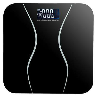 396lb waist electronic body weight scale lcd