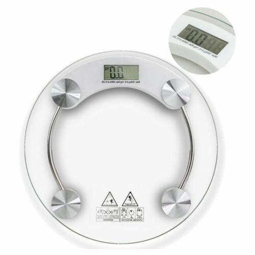400lb Electronic Glass Weight Round