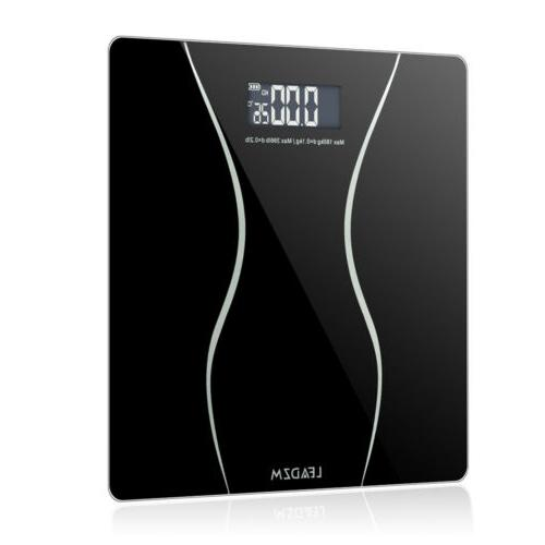 400lb/180KG LCD Bathroom Scale Body Weight Scales