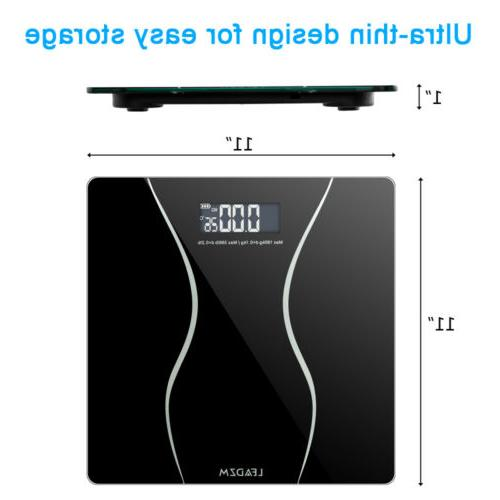 Body Weight LCD Tempered Glass 180KG + 2x