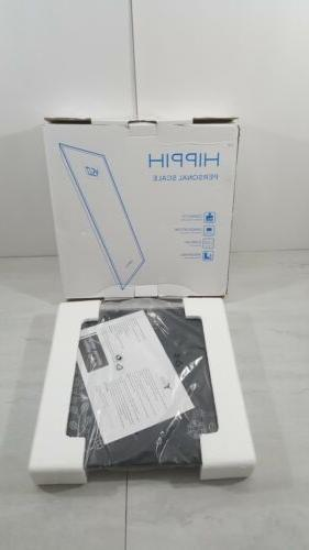400lb 180kg electronic bathroom scale tempered glass