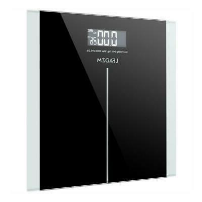 400lb digital body weight scale bathroom fitness
