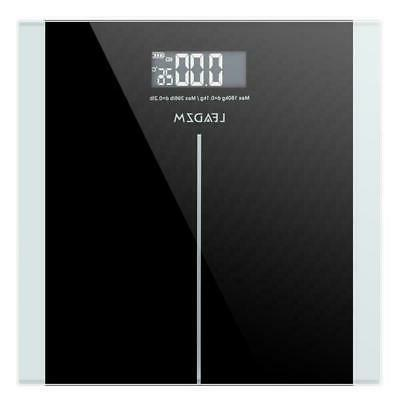 400lb digital body weight scale lcd personal