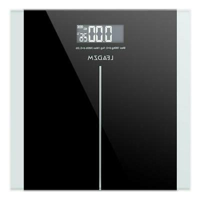 400lbs digital body weight bathroom scale tempered