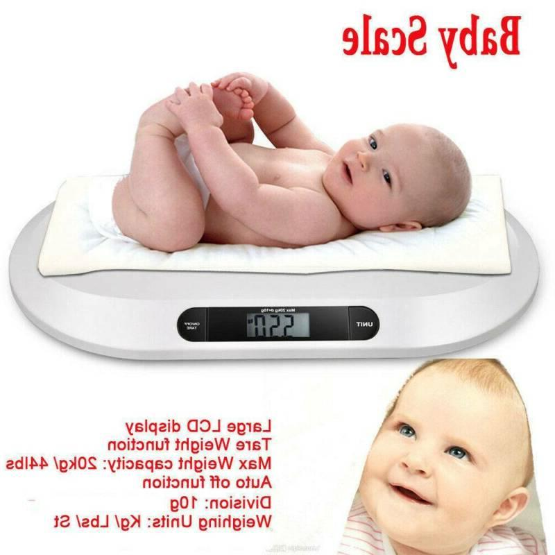44 LBS Scale Infant Electronic Scale White