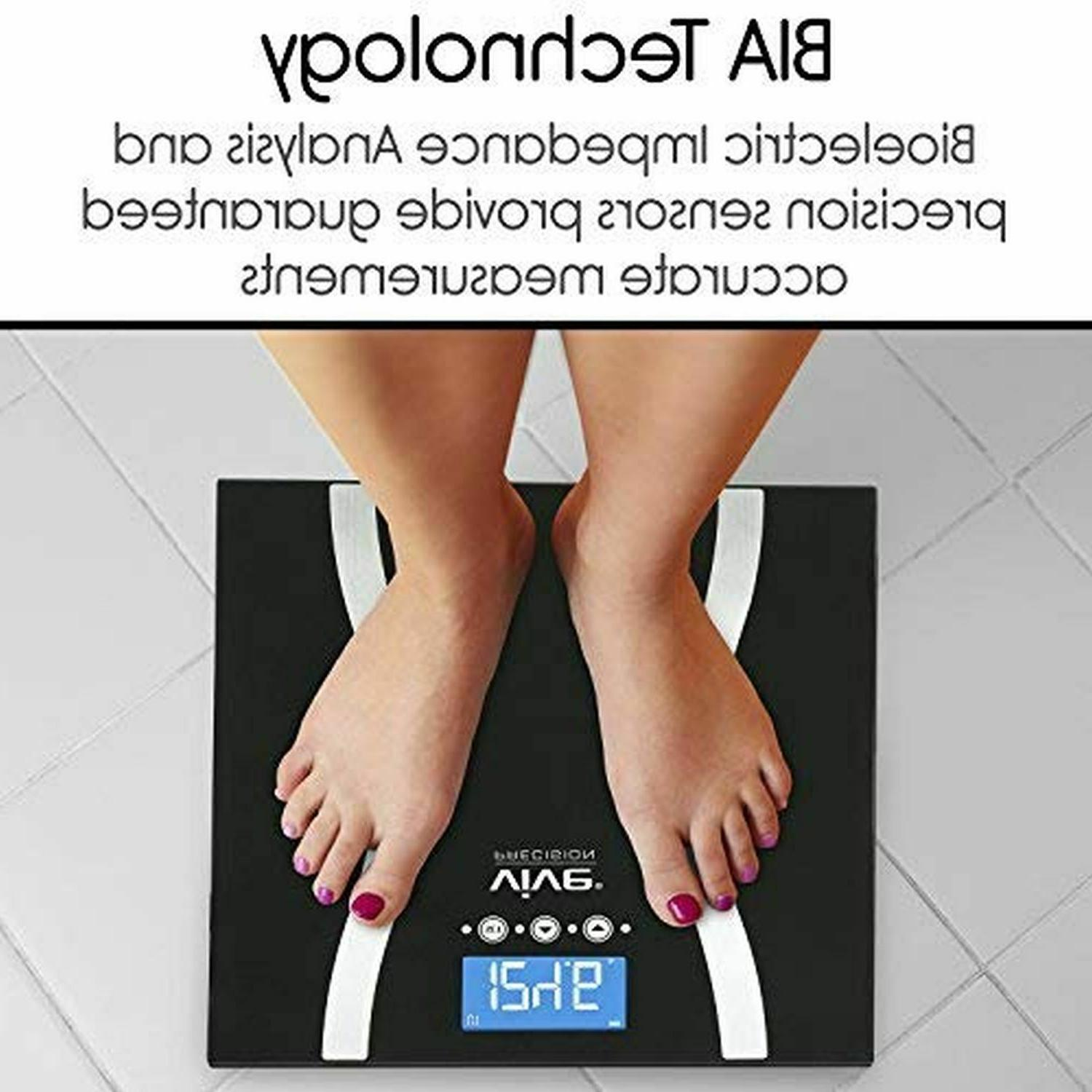 400lb LCD Smart Weight Scale Health Muscle