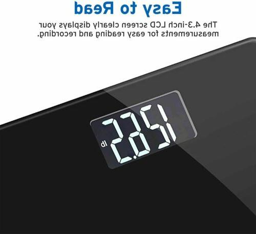 Etekcity Precision Body Weight Easy-to-Read Backlit LCD,